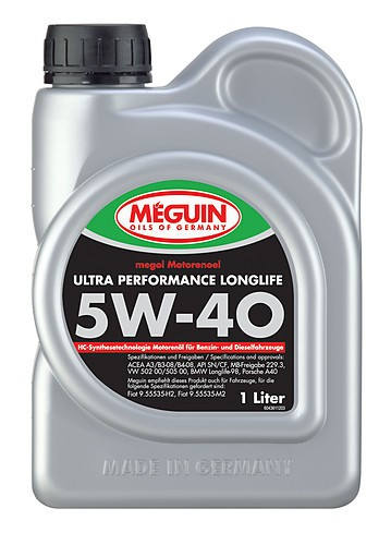 megol Ultra Performance Longlife 5W-40