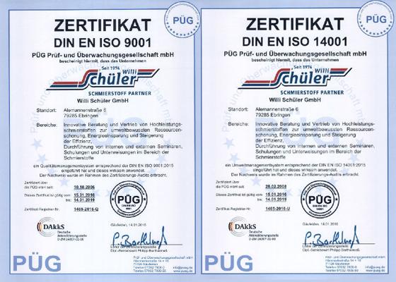 ISO-Zertifikate-9001-14001