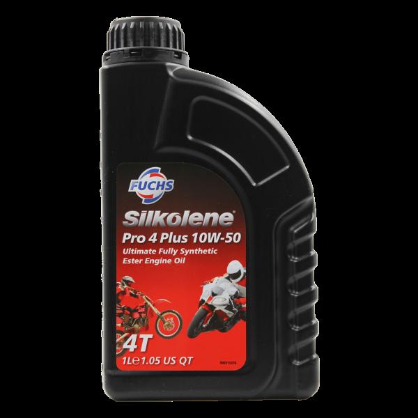 Silkolene Pro 4 Plus SAE 10W-50
