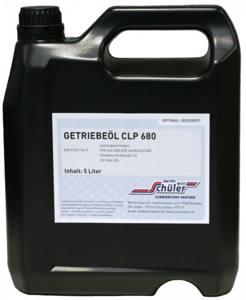 Getriebeöl CLP 680