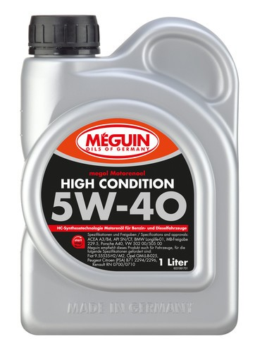 megol High Condition 5W- 40