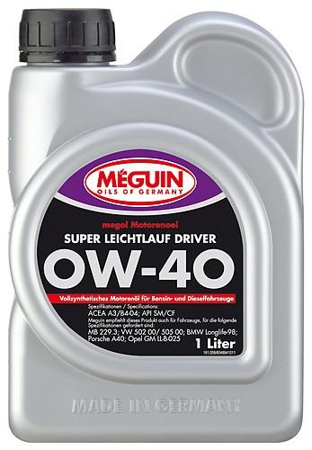 megol Super Leichtlauf Driver 0W-40