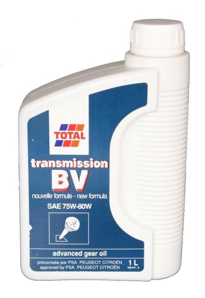 TOTAL Transmission BV 75W-80 1 L Dose