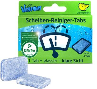 Doc Vision Scheibenreiniger-Tabs (4 Tabs)