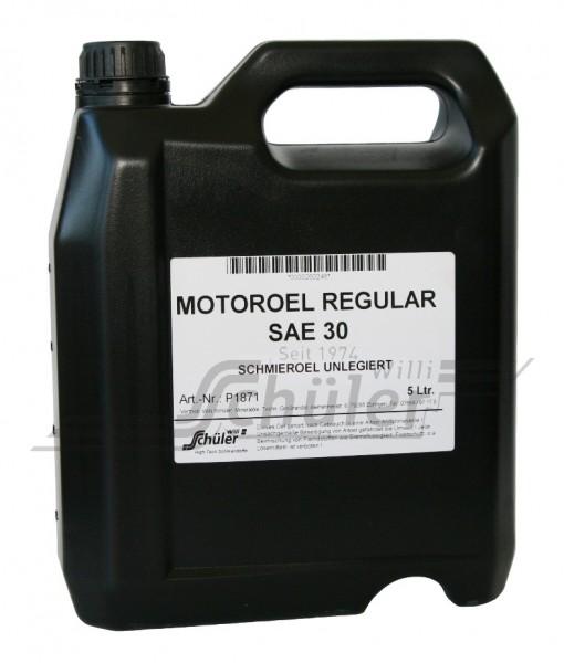 Motoröl Regular SAE 30 unlegiert